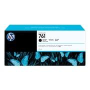 HP 761 Black Matte Ink Cartridge, High Yield (CM997A)