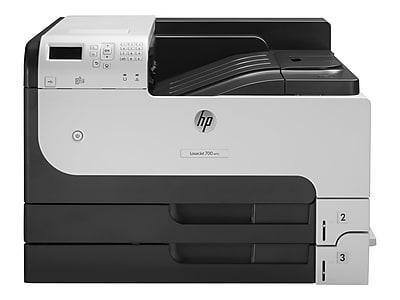 HP LaserJet Enterprise 700 M712dn CF236A USB & Network Ready Black & White Laser Printer