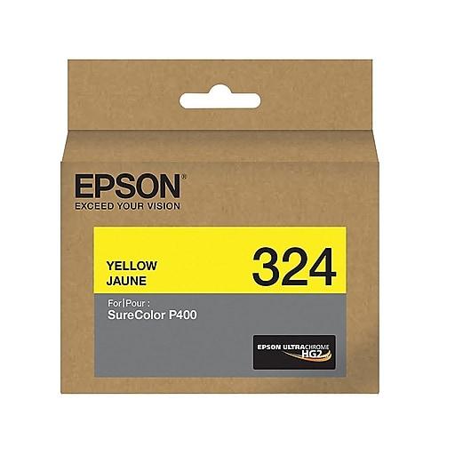 Epson 324 Yellow Ink Cartridge, Standard (T324420)