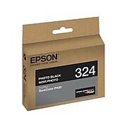 Epson T324 Ultrachrome Photo Black Standard Yield Ink Cartridge