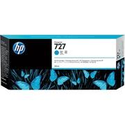 HP 727 Cyan Ink Cartridge, High Yield (F9J76A)