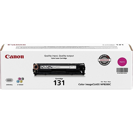 Canon 131 Magenta Toner Cartridge, Standard (6270B001AA)