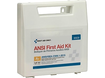 First Aid Only 183 pc. First Aid Kit for 50 People (90639)