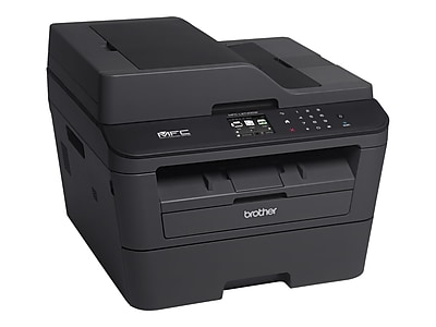 Brother MFC-L2740DW Black & White Laser All-In-One Printer, Refurbished