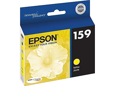 Epson 159 Yellow Ink Cartridge, Standard (T159420)