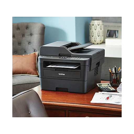 Brother MFC-L2750DW USB, Wireless, Network Ready Black & White Laser  All-In-One Printer