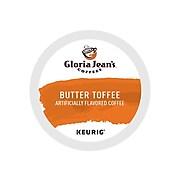 Gloria Jean's Butter Toffee Coffee, Keurig® K-Cup® Pods, Medium Roast, 24/Box (60051-012)