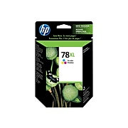 HP 78XL Tri-Color High Yield Ink Cartridge (C6578AN#140)