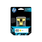 HP 02 Yellow Ink Cartridge, Standard (C8773WN#140)