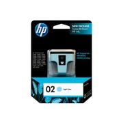 HP 02 Light Cyan Ink Cartridge, Standard (C8774WN#140)