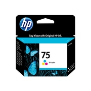 HP 75 Color Combination Ink Cartridge, Standard (CB337WN#140)