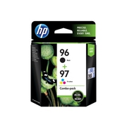 HP 96/97 Black/Color Ink Cartridges, Standard, 2/Pack (C9353FN#140)