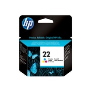 HP 22 Color Combination Ink Cartridge, Standard (C9352AN#140)