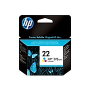 HP 22 Tri-Color Standard Yield Ink Cartridge (C9352AN#140)