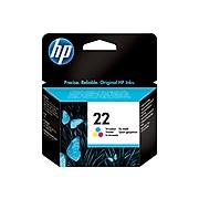 HP 22 Tri-Color Standard Yield Ink Cartridge (C9352AN#140)