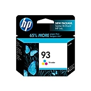 HP 93 Tri-Color Standard Yield Ink Cartridge (C9361WN#140)