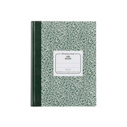 "National Brand Lab Computation Notebook, 7.88"" x 10.13"", Quad Ruled, 96 Sheets, Green (53110)"
