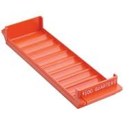 MMF Industries Porta-Count Tray, 1 Compartment, Orange (212082516)