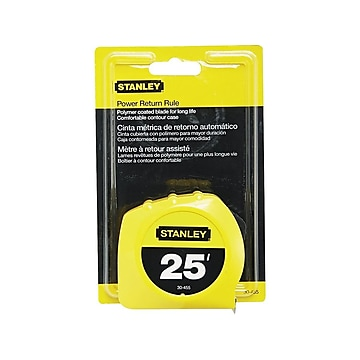 Stanley 25' Tape Measure, Polymer (30455)