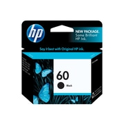 HP 60 Black Ink Cartridge, Standard (CC640WN#140)