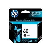 HP 60 Black Standard Yield Ink Cartridge (CC640WN#140)