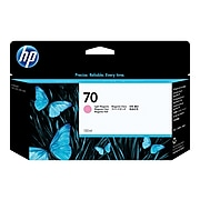 HP 70 Light Magenta Standard Yield Ink Cartridge (C9455A)