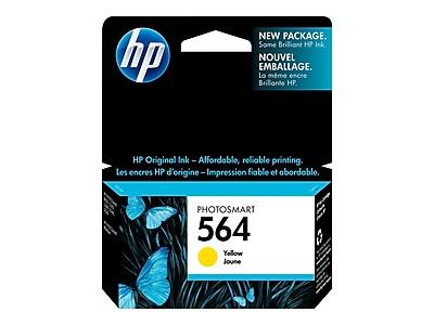 HP 564 Yellow Ink Cartridge, Standard (CB320WN#140)