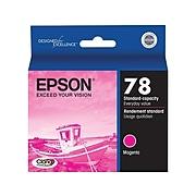 Epson T78 Magenta Standard Yield Ink Cartridge