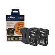 Brother LC612PKS Black Standard Yield Ink Cartridge, 2/Pack