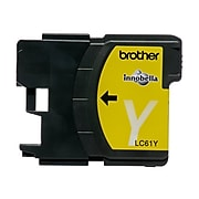 Brother LC61YS Yellow Standard Yield Ink Cartridge