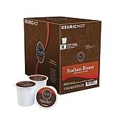 Tully's Italian Roast Coffee, Keurig® K-Cup® Pods, Dark Roast, 24/Box (193019)