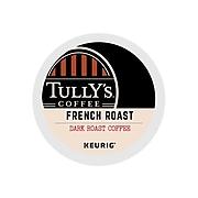 Tully's French Roast Coffee, Keurig® K-Cup® Pods, Dark Roast, 24/Box (192619)