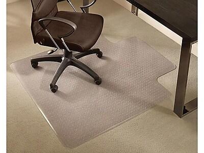 Staples 36 X 48 Medium Pile Carpet Chair Mat Lip Staples