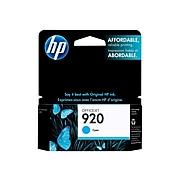 HP 920 Cyan Standard Yield Ink Cartridge (CH634AN#140)