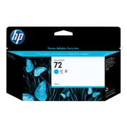 HP 72 Cyan Ink Cartridge, Standard (C9371A)