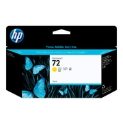 HP 72 Yellow Ink Cartridge, Standard (C9373A)