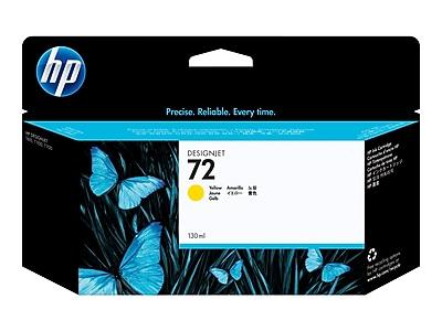 HP 72 Yellow Ink Cartridge, Standard (C9373A)