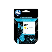 HP 82 Yellow Standard Yield Ink Cartridge (CH568A)