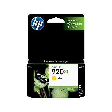 HP 920XL Yellow High Yield Ink Cartridge (CD974AN)