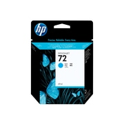 HP 72 Cyan Ink Cartridge, Standard (C9398A)