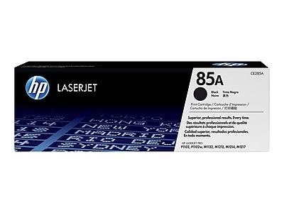 HP 85A Black Toner Cartridge, Standard (CE285A)