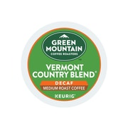 Green Mountain Vermont Country Blend Coffee, Keurig® K-Cup® Pods, Medium Roast, 96/Carton (GMT7602CT)