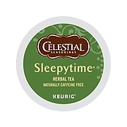 Celestial Seasonings Sleepytime Herbal Tea, Keurig K-Cup Pods, 24/Box (14739)