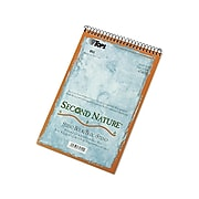 """TOPS Second Nature Steno Pad, 6"""" x 9"""", Gregg Ruled, White, 70 Sheets/Pad (TOP 74690)"""