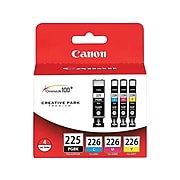 Canon PGI-225/CLI-226 Black/Cyan/Magenta/Yellow Standard Yield Ink Cartridge, 4/Pack (4530B008)