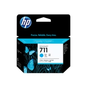 HP 711 Cyan Ink Cartridges, 3/Pack, Standard (CZ134A)