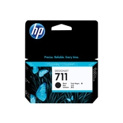 HP 711 Black Ink Cartridge, Standard (CZ129A)