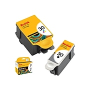 Kodak 30B Black/ 30C Color Ink Cartridge, Standard Yield, 2/Pack (8781098)