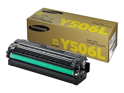 Samsung 506 Yellow Toner Cartridge, High Yield (SU519A)