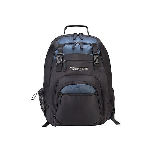 6cf80d024 Targus Laptop Backpack, Solid, Black/Blue (TXL617).  https://www.staples-3p.com/s7/is/